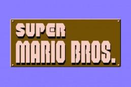 Super Mario Bros. logo