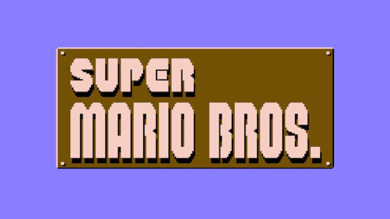 Super Mario Bros. logo