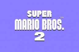 Super Mario Bros. 2 logo