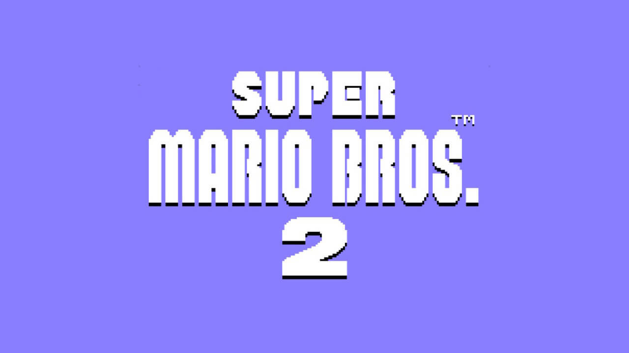Super Mario Bros. 2 logo
