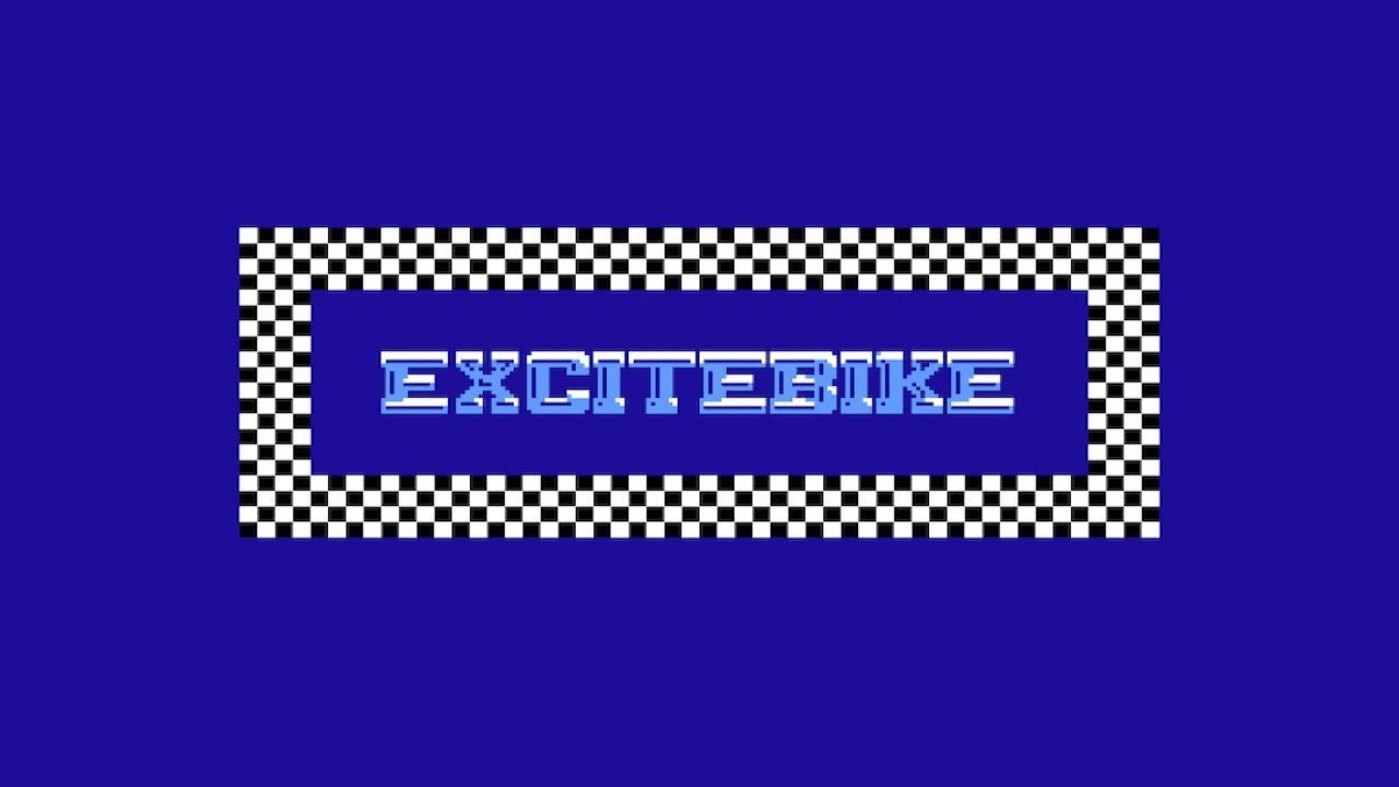 The Excitebike logo from Nintendo