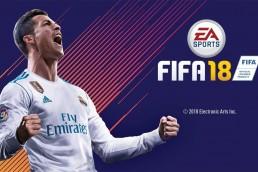 FIFA 18 title screen