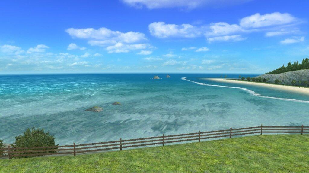 Go Vacation - Coastal view from villa