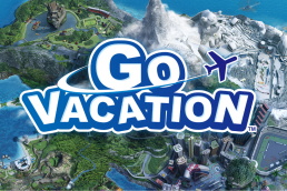 Go Vacation - Title screen