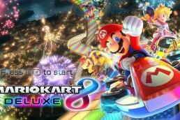 Mario Kart 8 Deluxe - Title screen