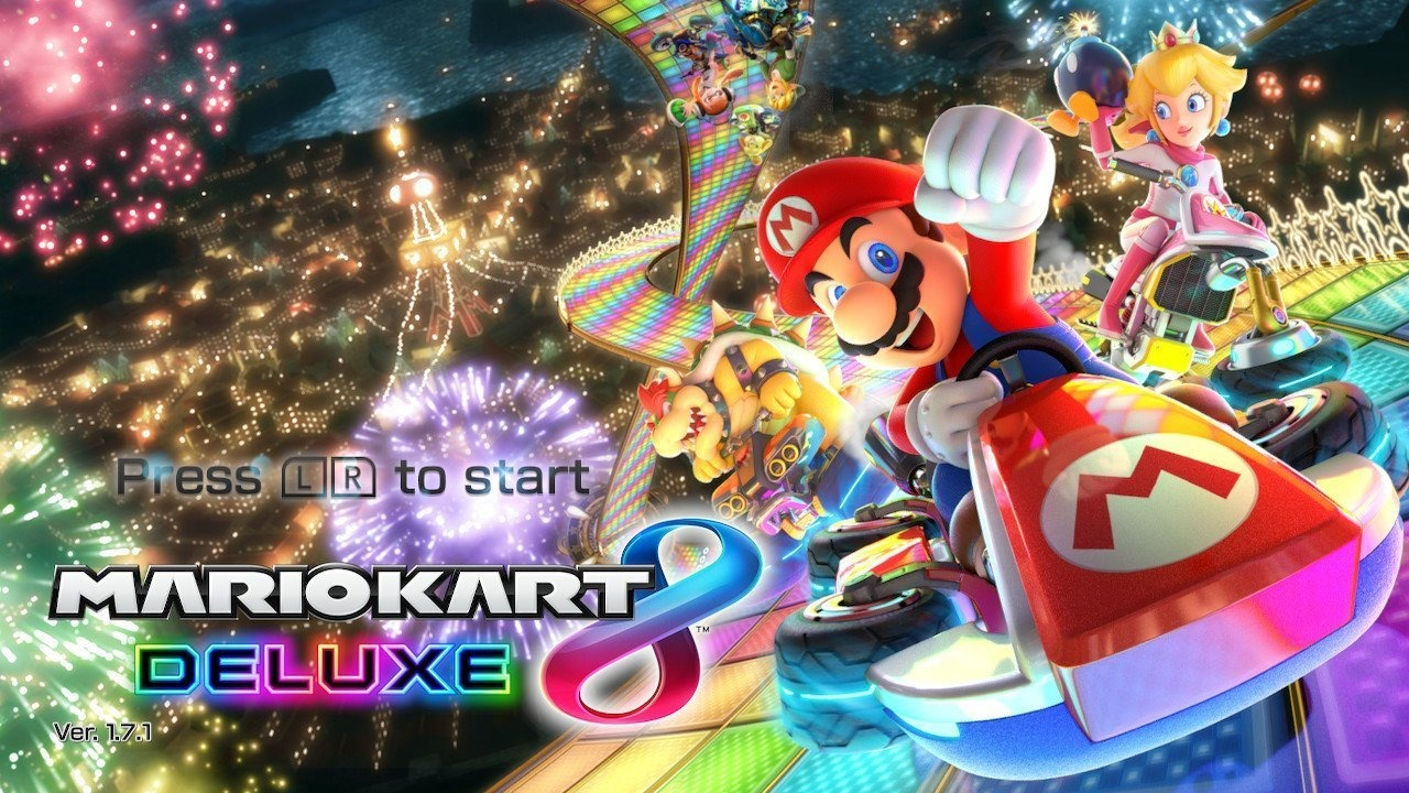 Mario Kart 8 Deluxe - Title screen