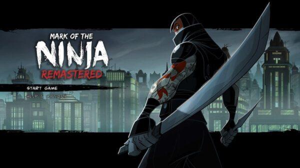 Mark of the Ninja Remastered title screen