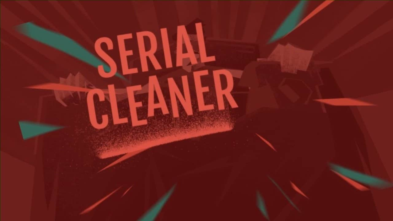 Serial Cleaner title screen