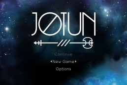 Jotun title screen