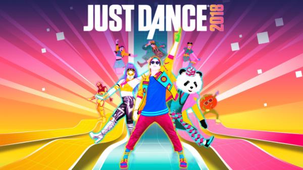 Just Dance 2018 - Title screen