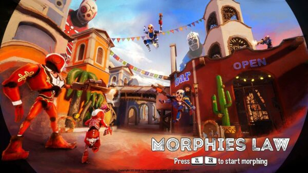 Morphies Law title screen