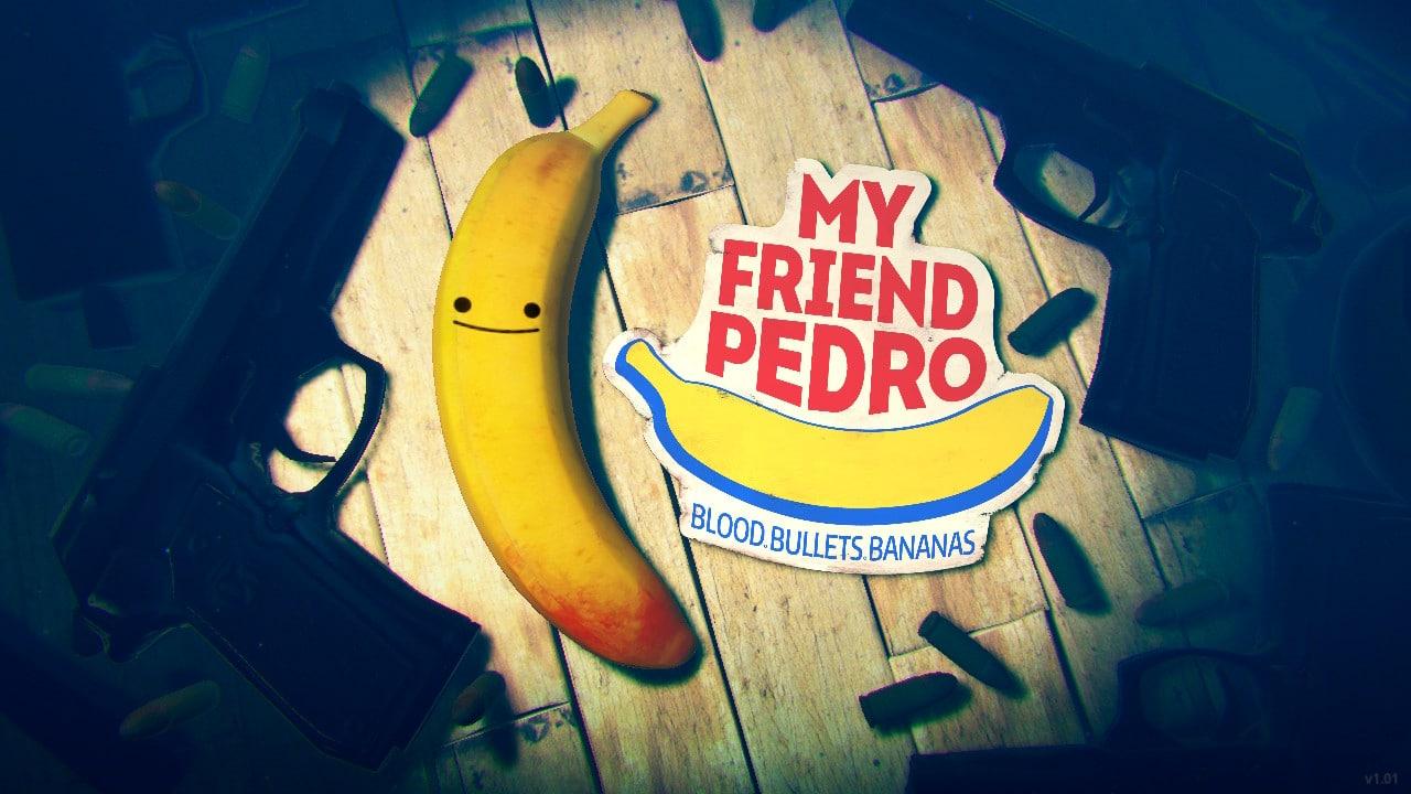 My Friend Pedro - Title screen