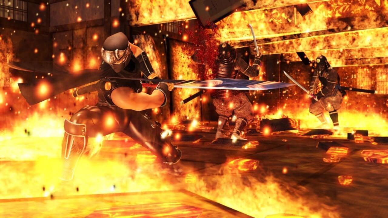 Ninja Gaiden Sigma - Lava