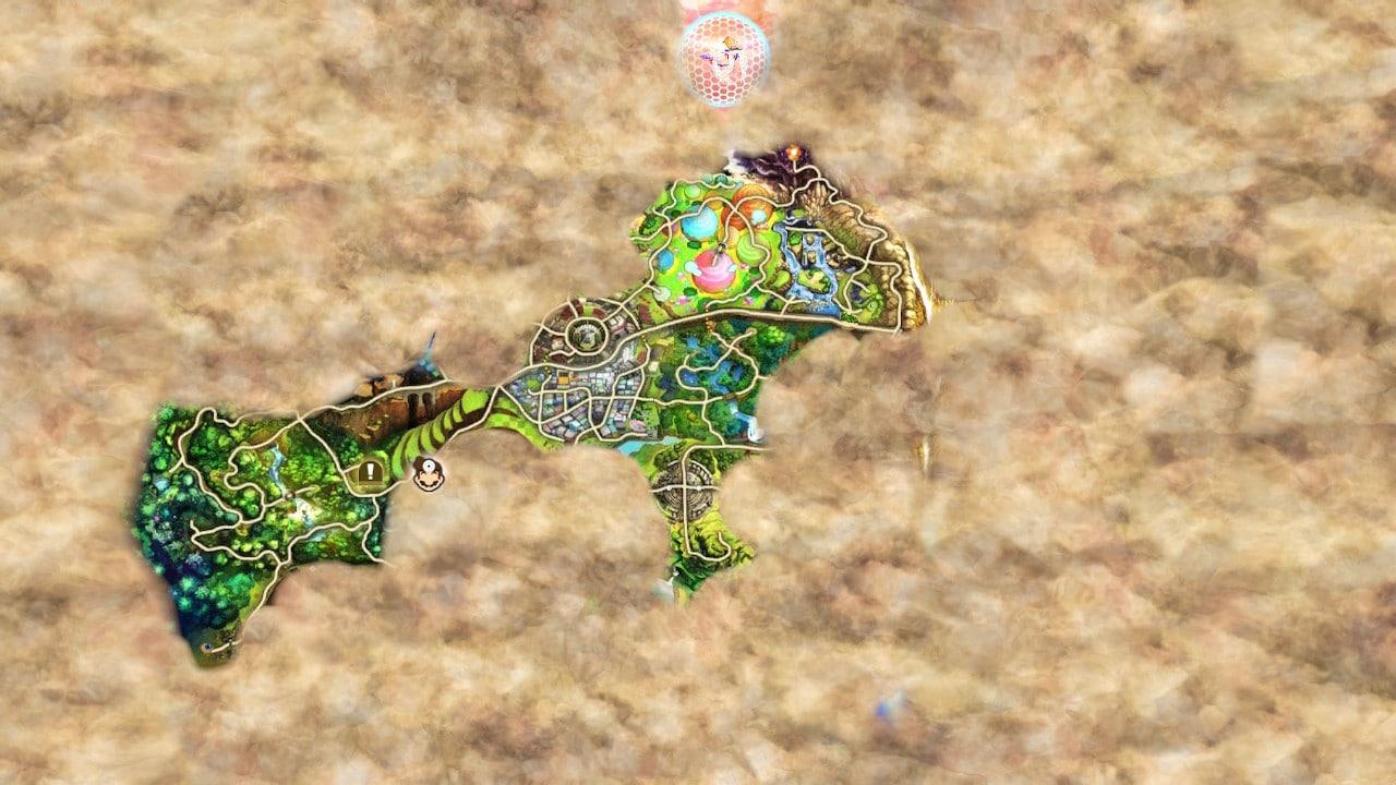 Super Smash Bros. Ultimate - Single player map