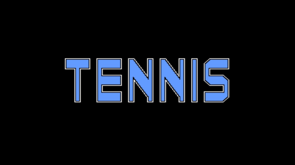 Tennis logo from NES online