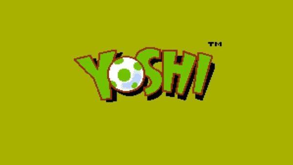 Yoshi NES logo