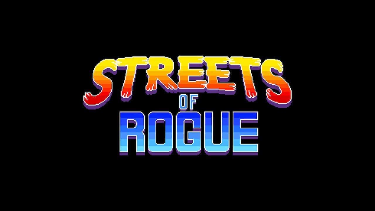 Streets of Rogue logo from title screen