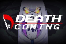 Death Coming title screen