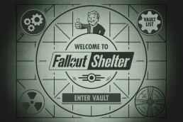 Fallout Shelter title screen