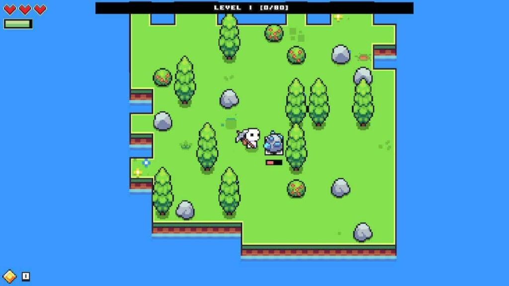The very beginning of Forager