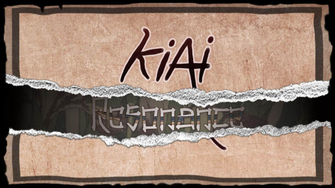 Kiai Resonance title screen