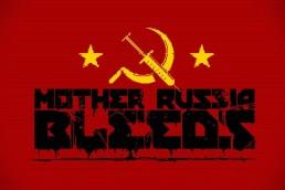 Mother Russia Bleeds title screen