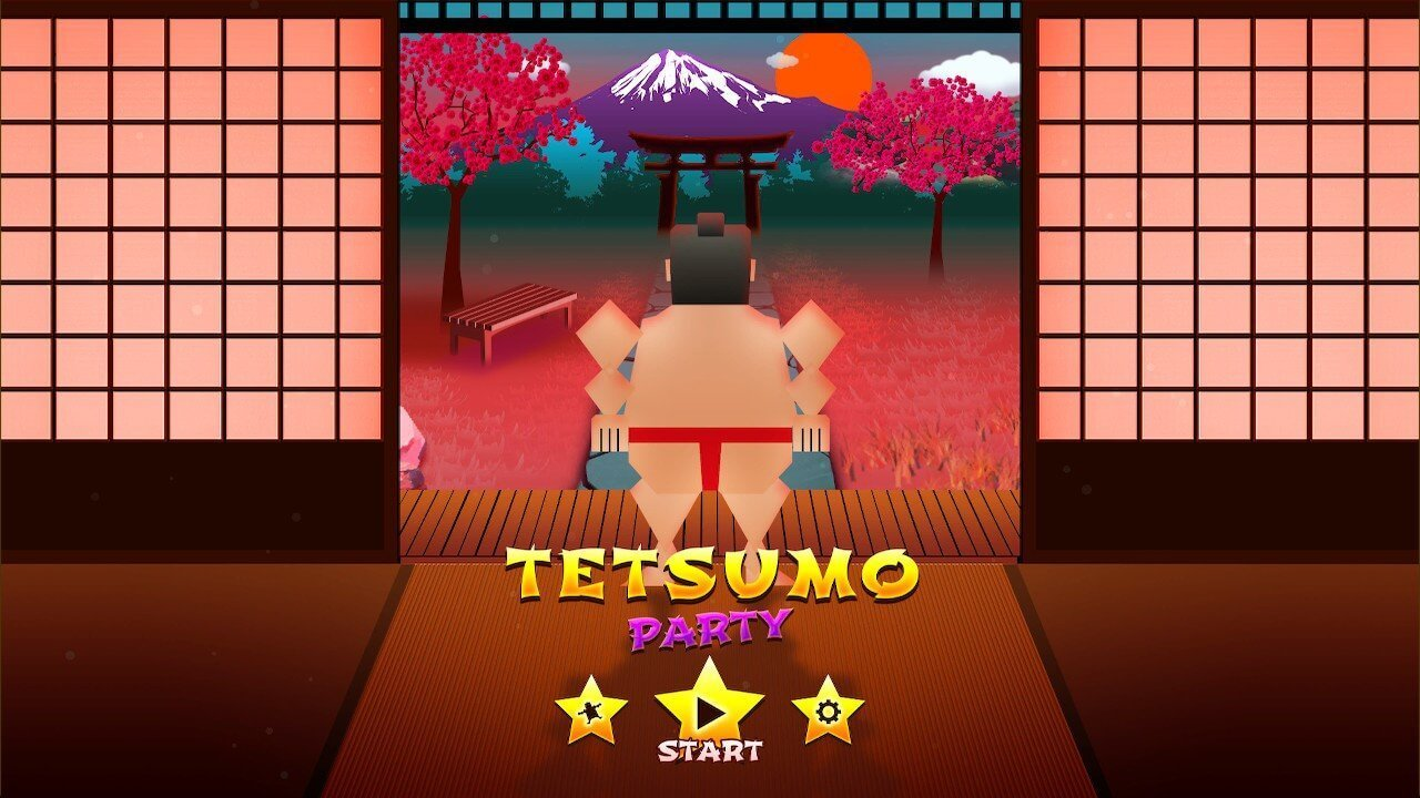 Tetsumo Party title screen