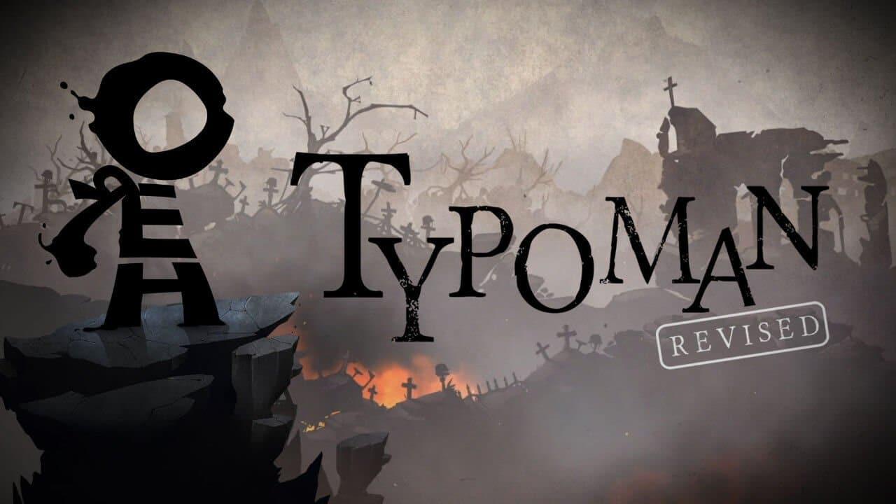 Typoman - Title screen