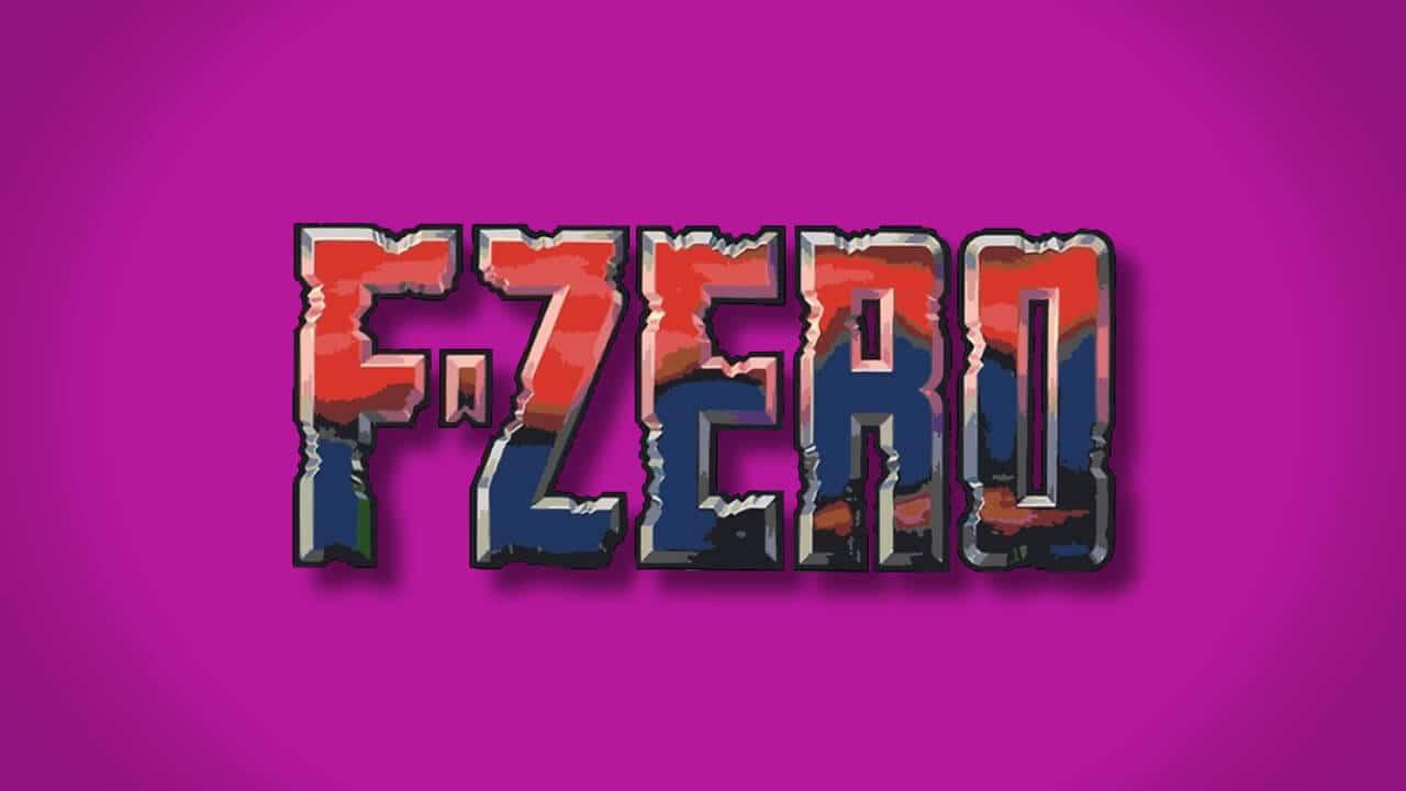 F-Zero header