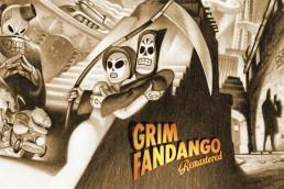 Grim Fandango Switch Title