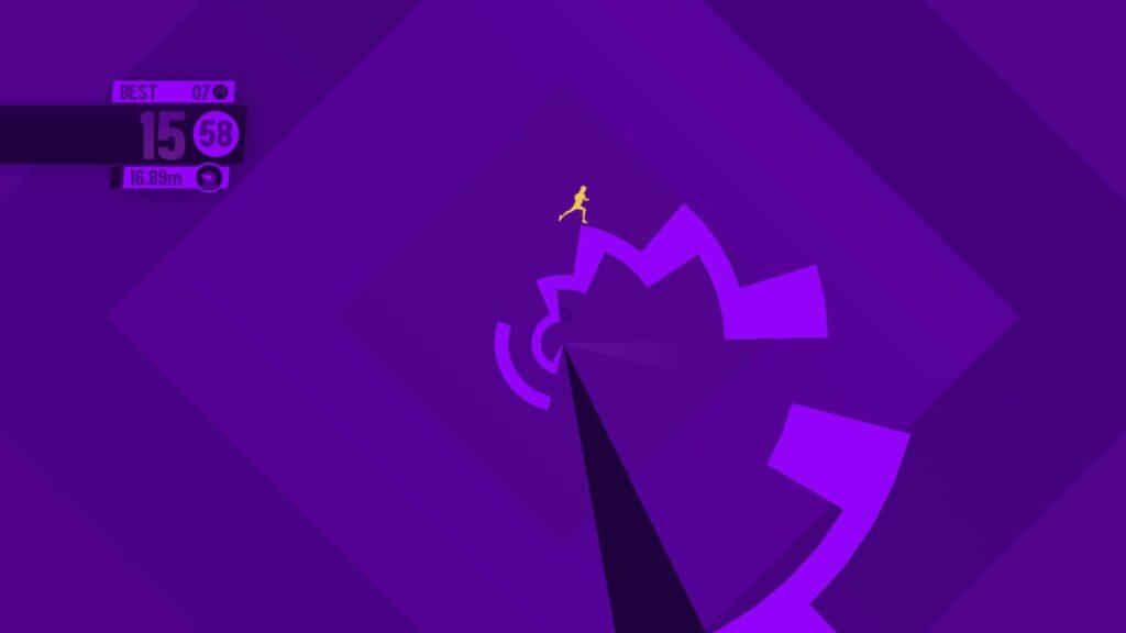 A purple level