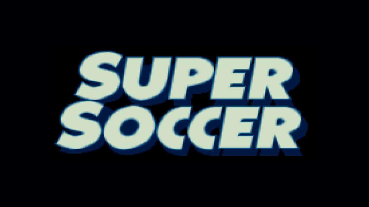 Super Soccer header image
