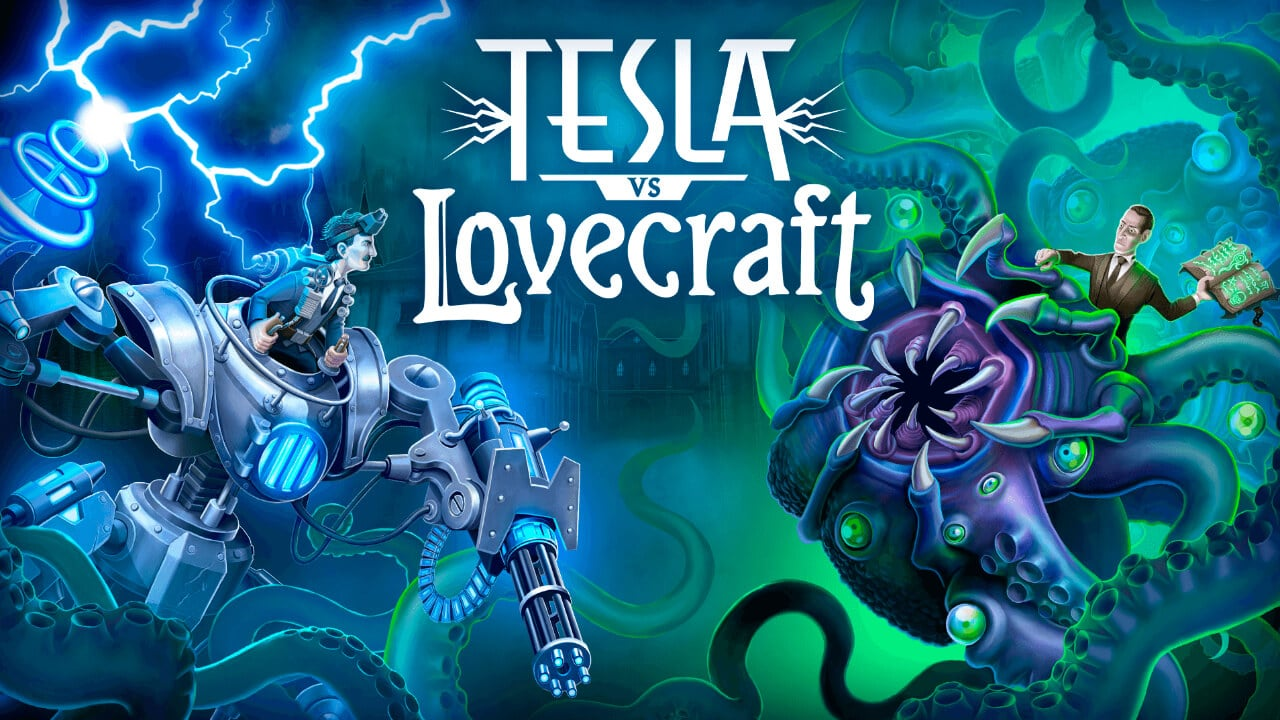 Tesla vs Lovecraft press image