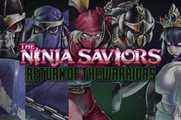 The Ninja Saviors promotional title