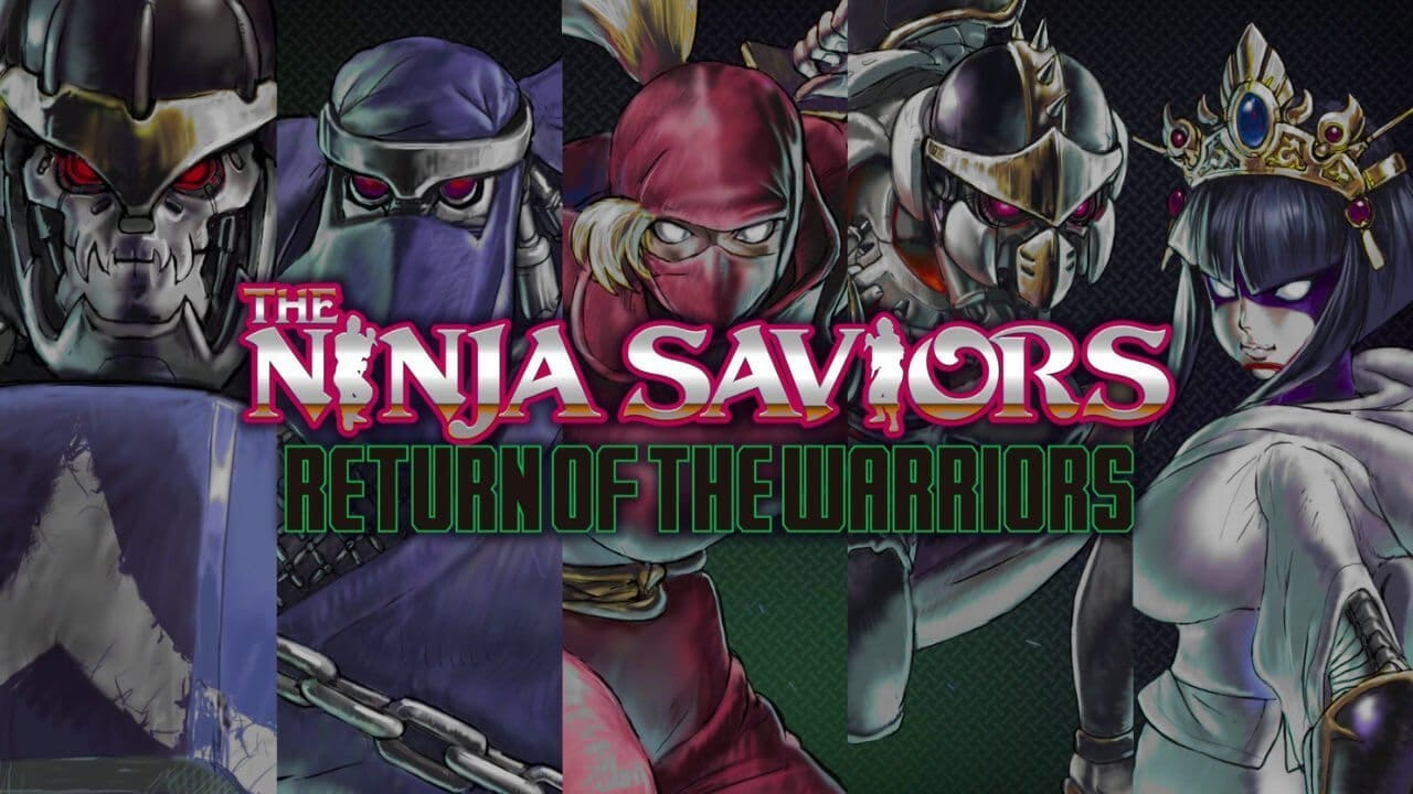The Ninja Saviors promotional title
