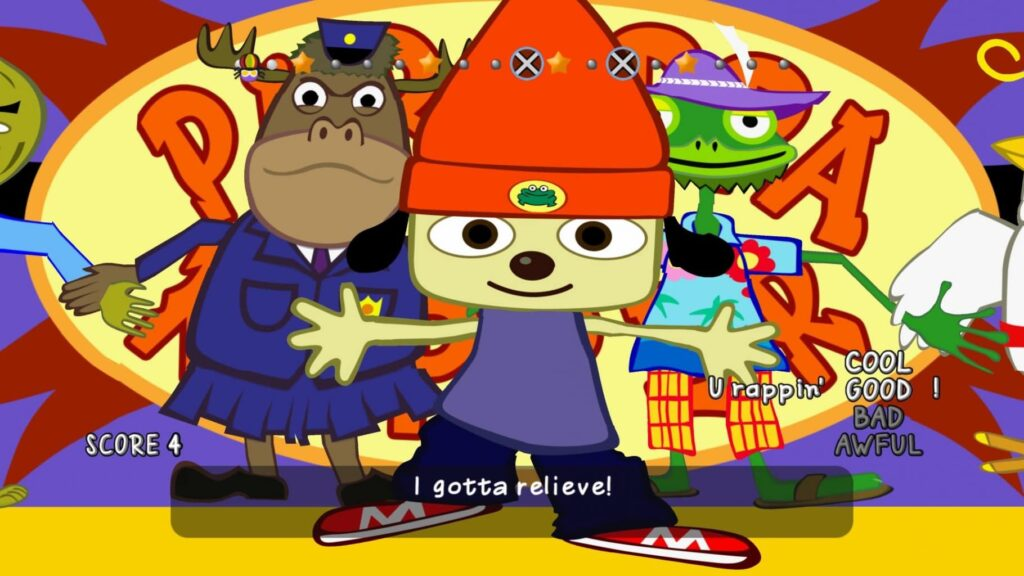 Final stage in PaRappa the Rapper