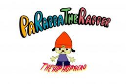 PaRappa the Rapper title screen