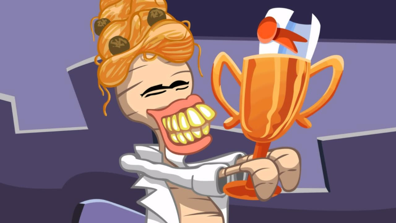 Best human award, from Day of the Tentacle