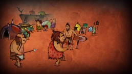 Jet Kave Adventure - cavemen drawings/intro