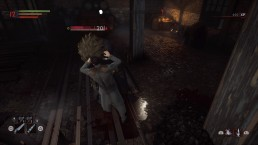 A werewolf encounter finishes with the vampire taking a bite