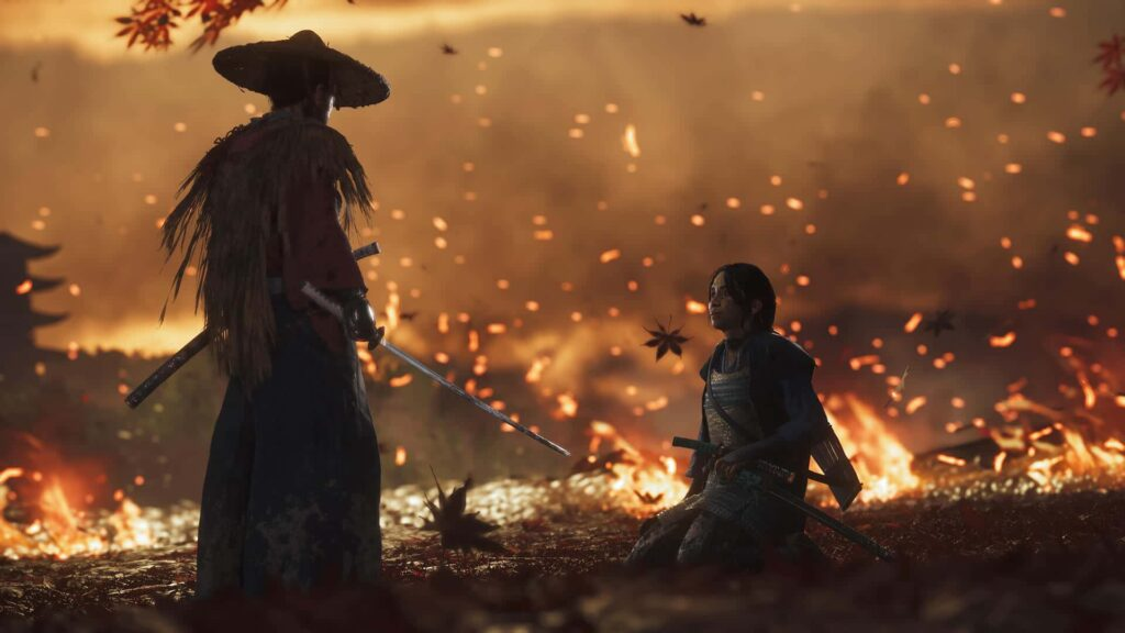 Press image Ghost of Tsushima