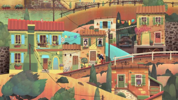 Old Man's Journey - a vibrant city