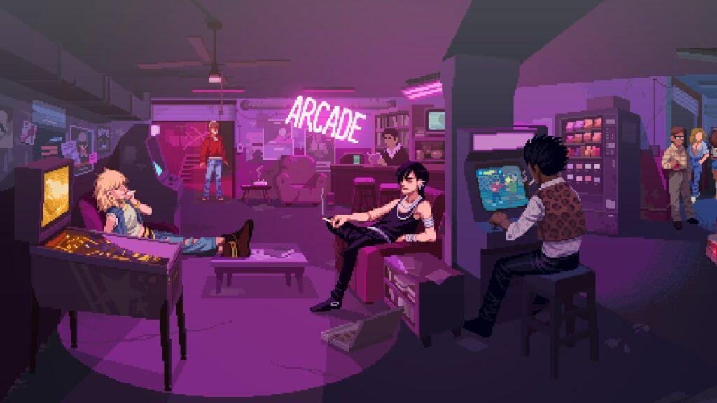 198x - Inside the arcade