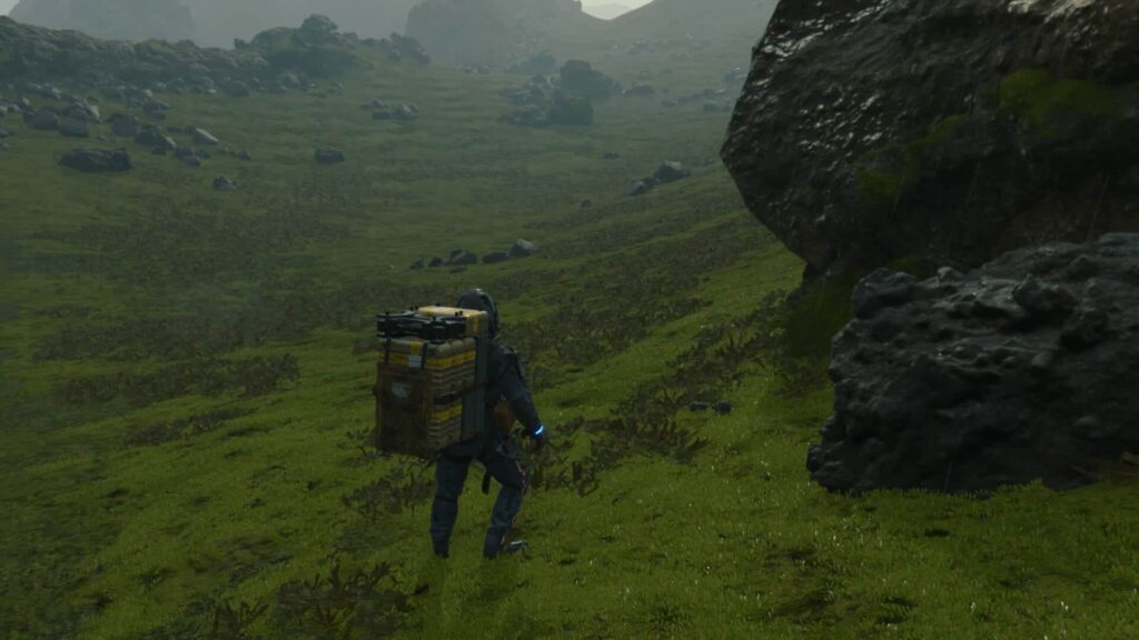 Death Stranding - Into the wilderness