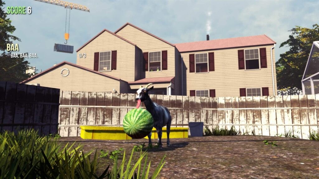 A goat in Goat Simulator
