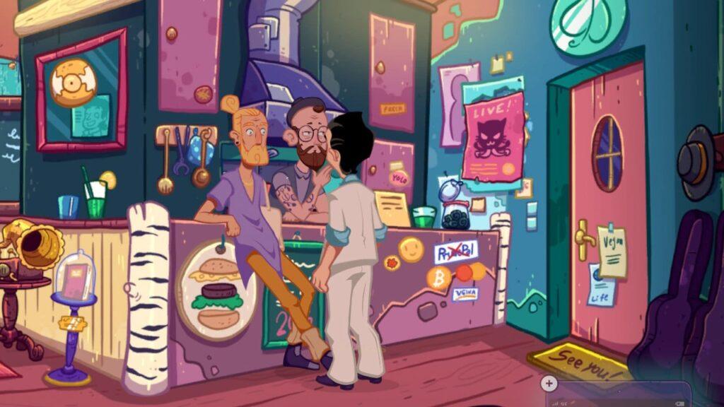 Leisure Suit Larry Wet Dreams Don't Dry - Vegans