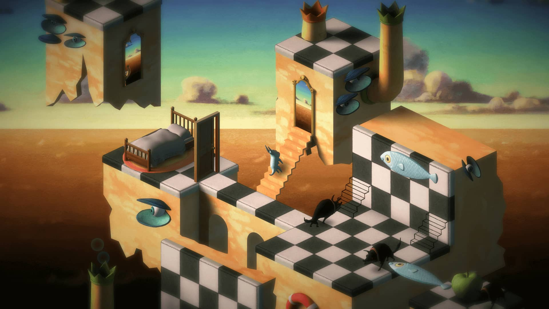 Back to Bed Nintendo Switch Review - Dali