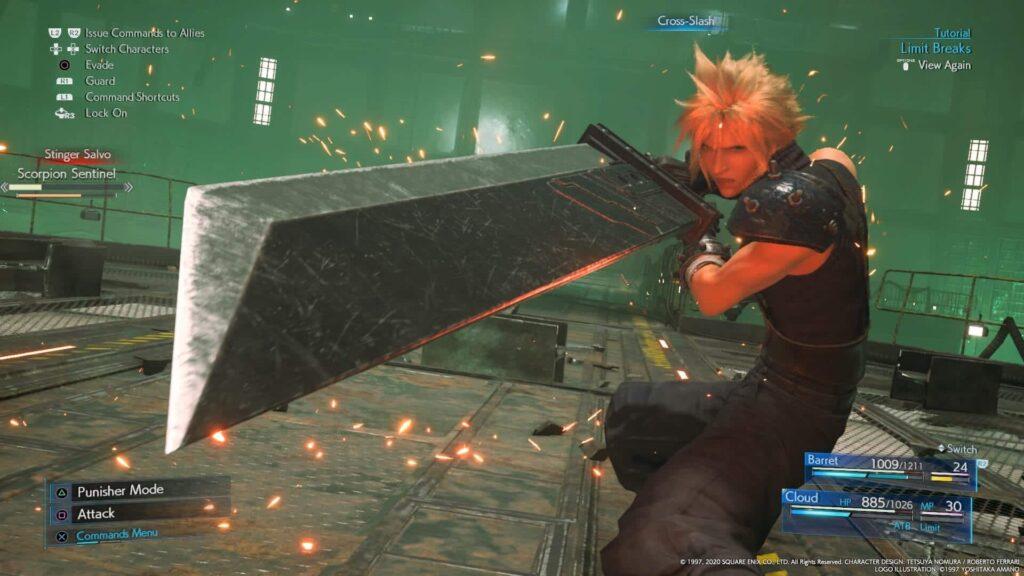 Final Fantasy VII Remake - Limit