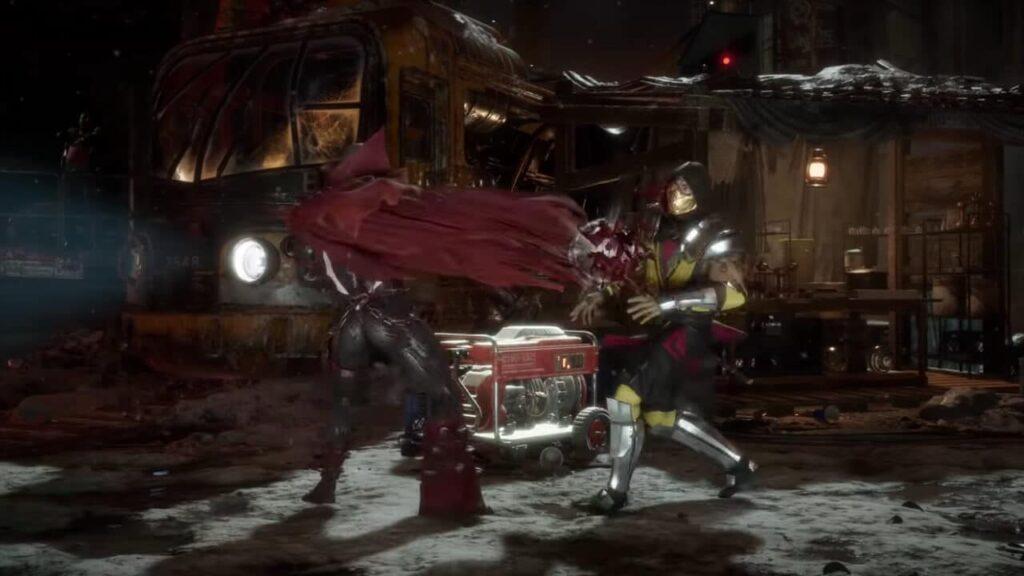 Mortal Kombat 11 - Mid fight
