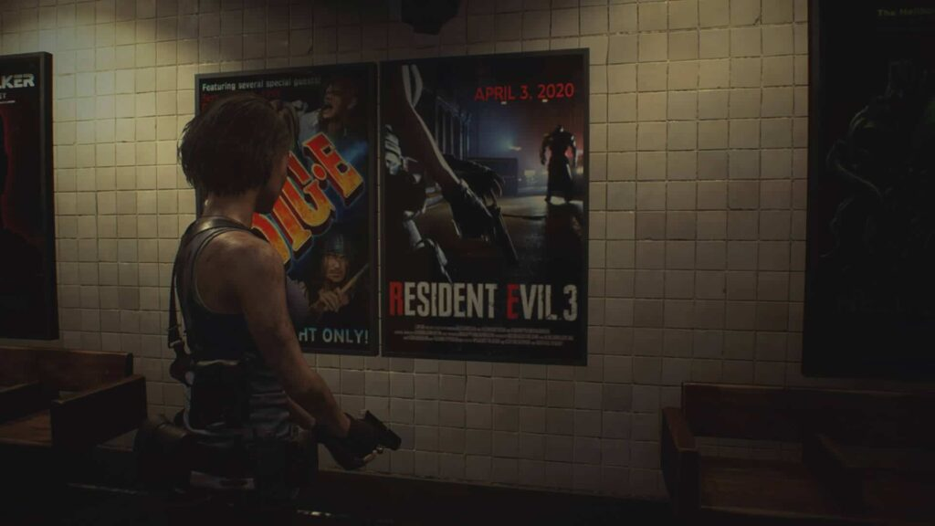 Resident Evil 3 - Product placement